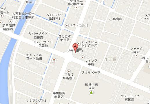 焼肉南大門亀山店地図